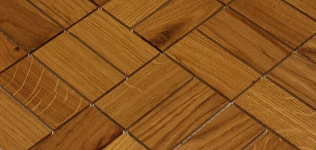 Holz Mosaikfliesen Hell comfort