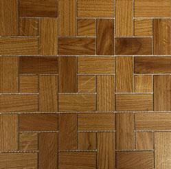 Holz Mosaikfliesen Hell ritmo Frontansicht